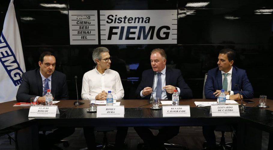 Espírito Santo e Minas Gerais lançam plano estratégico de desenvolvimento econômico. Foto: Foto: Gil Leonardi/Governo de MG