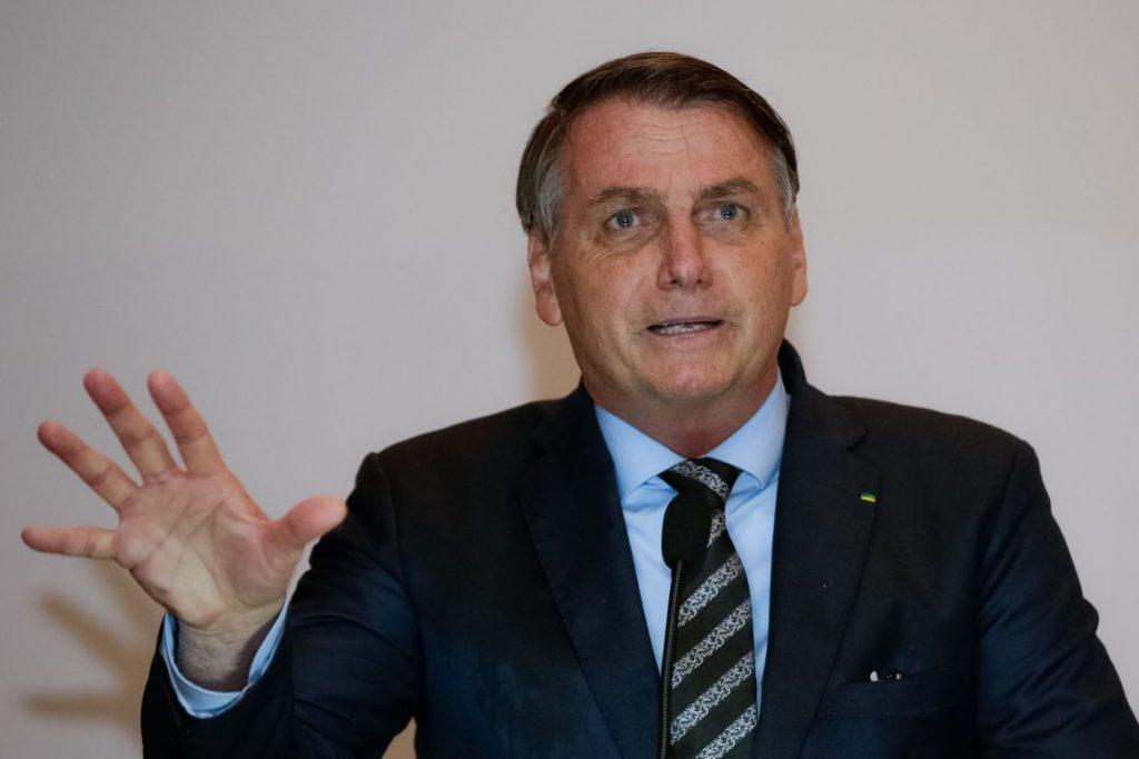 Presidente Jair Bolsonaro. Foto: Carolina Antunes