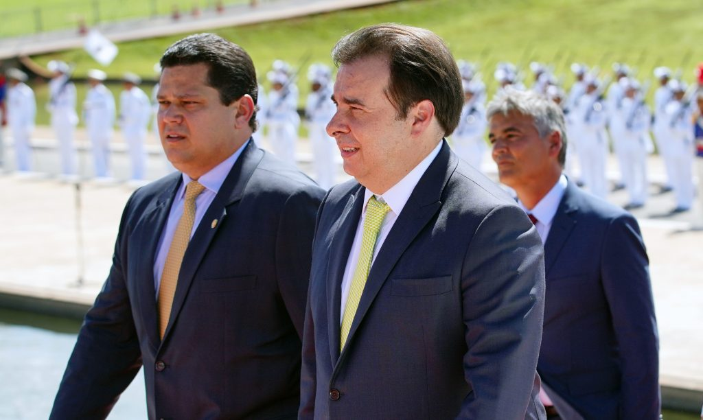 Presidente do Senado, Davi Alcolumbre e presidente da Câmara, Rodrigo Maia. Foto: Will Shutter/Câmara dos Deputados