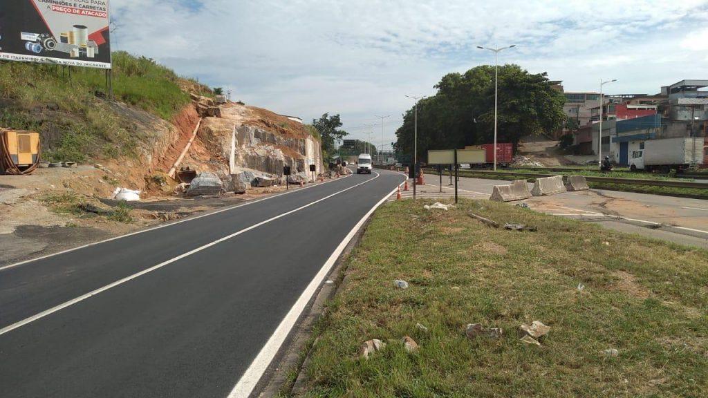 km 293 da BR 101, em Cariacica. Foto: Divulgação/Eco101