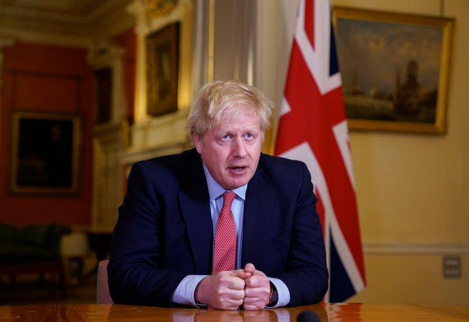 Reino Unido relaxa restrições, mas ressalta cautela com coronavírus. Foto: Reprodução/Twitter/@BorisJohnson