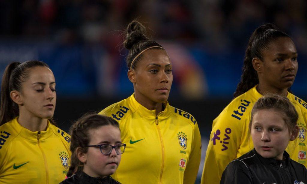 Jogo da seleção feminina brasileira terá portões fechados. Foto: A2M/CBF