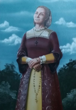 Luiza Grinalda foi a primeira mulher a ocupar o governo do Espírito Santo ainda no século XVI. Foto: Reprodução