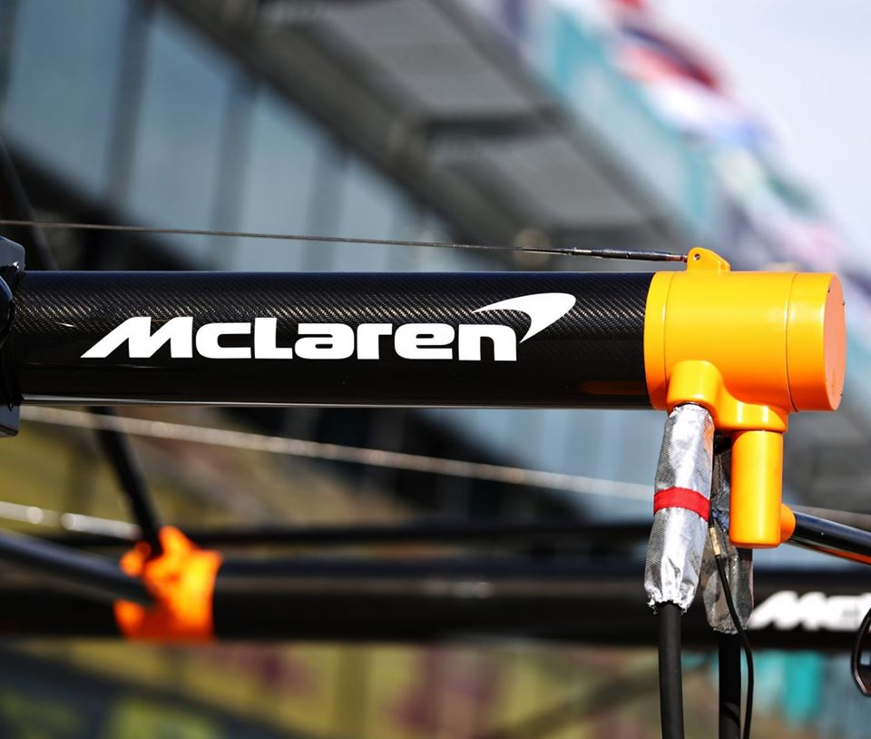 A McLaren confirmou que está se retirando do Grande Prêmio da Austrália depois que um membro da equipe deu positivo para o coronavírus. Foto: Reprodução/McLaren