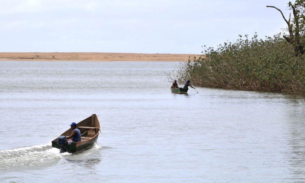 Foz do rio Doce, distrito de Regência. Foto: Tânia Rego
