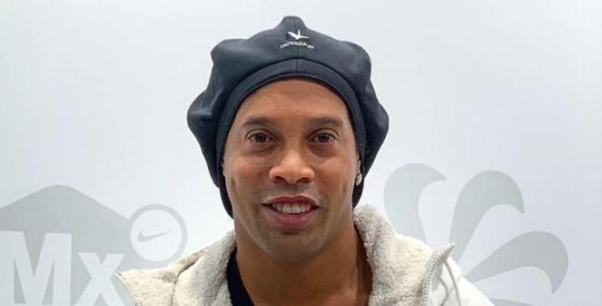 Ronaldinho Gaúcho. Foto: Reprodução/Facebook