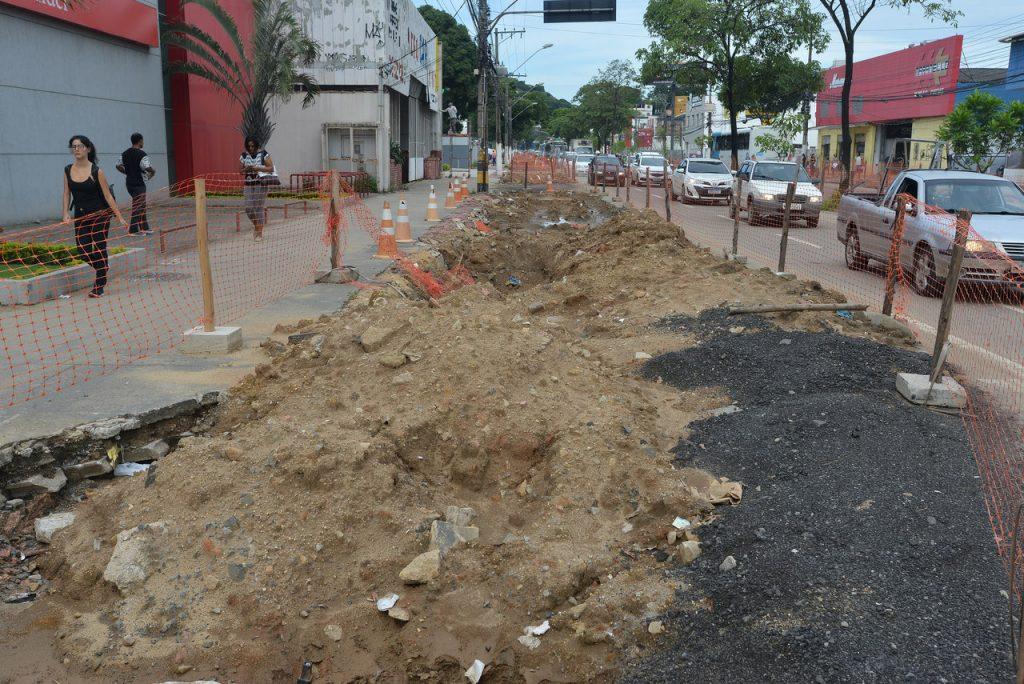 Trabalho no local deve ser concluído em junho deste ano. Foto: Chico Guedes