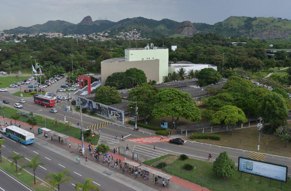 Vista aérea da Ufes. Foto: Chico Guedes