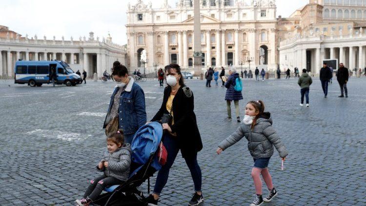 Vaticano registra primeiro caso de coronavírus. Foto: Vaticano News
