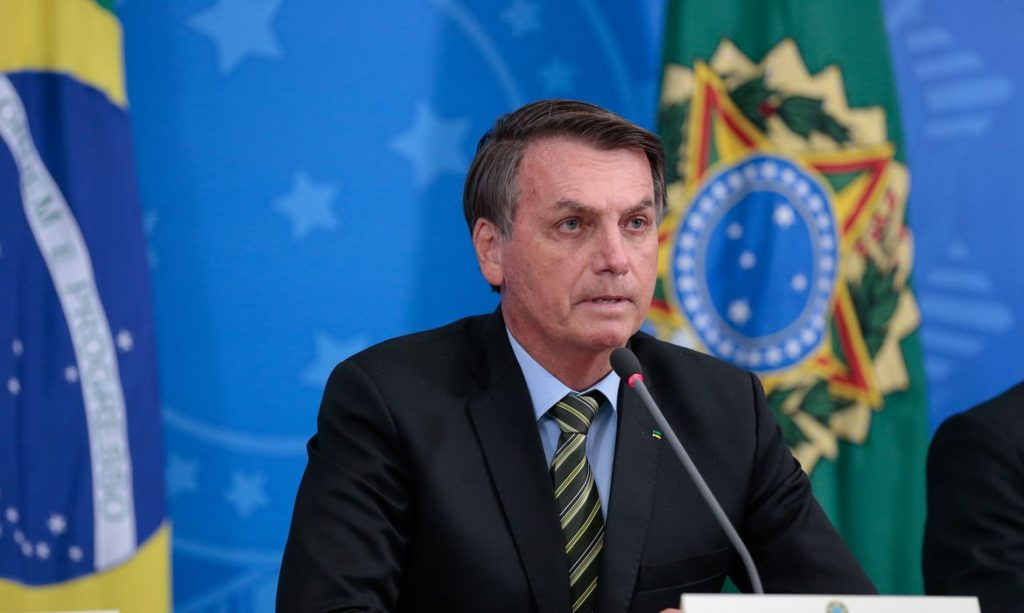 Presidente da República, Jair Bolsonaro. Foto: Agência Brasil