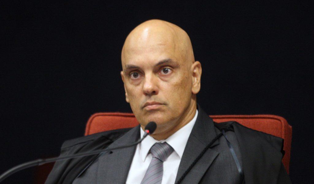 Ministro Alexandre de Moraes. Foto: Nelson Jr./SCO/STF Ministro Alexandre de Moraes durante sessão da 1ª turma do STF. Foto: Nelson Jr./SCO/STF