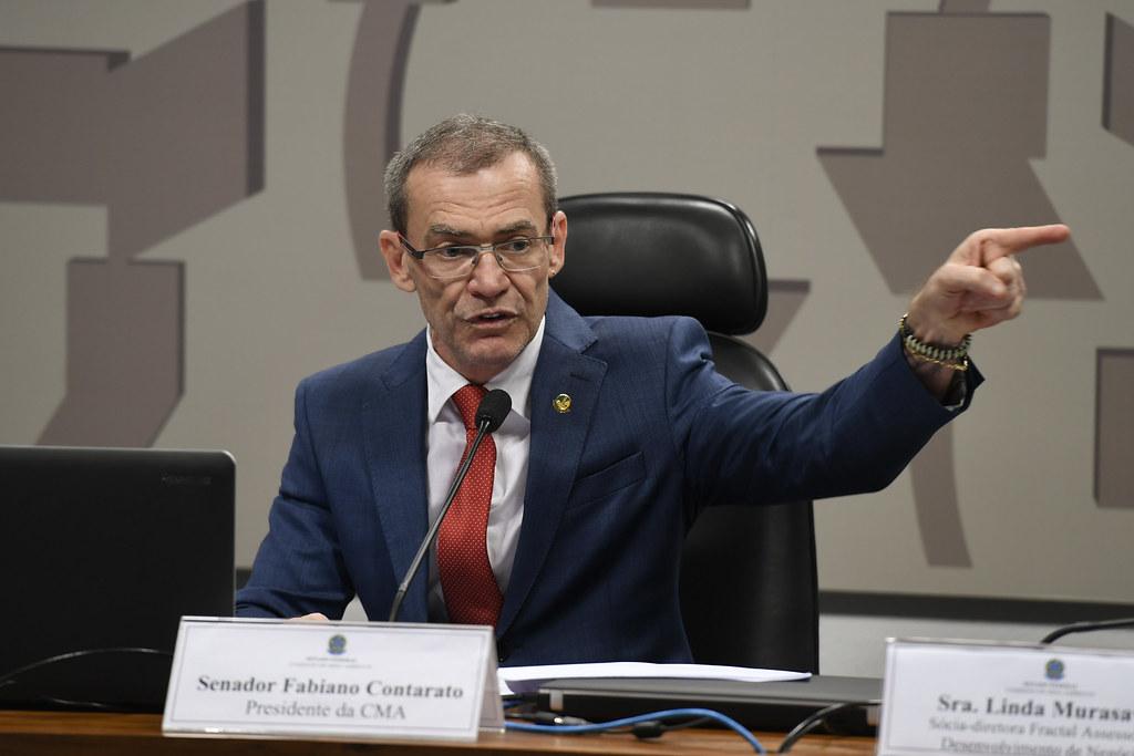 Senador Fabiano Contarato. Foto: Divulgação/Senado