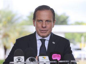 O governador de São Paulo, João Doria. Foto: Valter Campanato/Agência Brasil