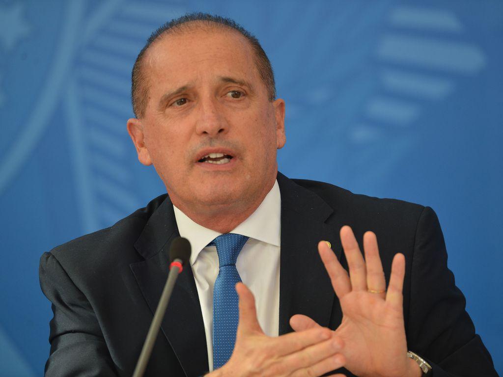 Ministro da Cidadania, Onyx Lorenzoni. Foto: Marcello Casal Jr./Agência Brasil