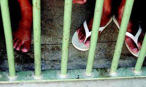 Presos; detentos; prisão. Foto: Thathiana Gurgel/DPRJ