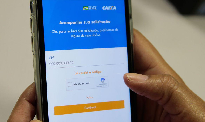Saiba como pedir a renda básica emergencial de R$ 600. Foto: Marcello Casal Jr/Agência Brasil