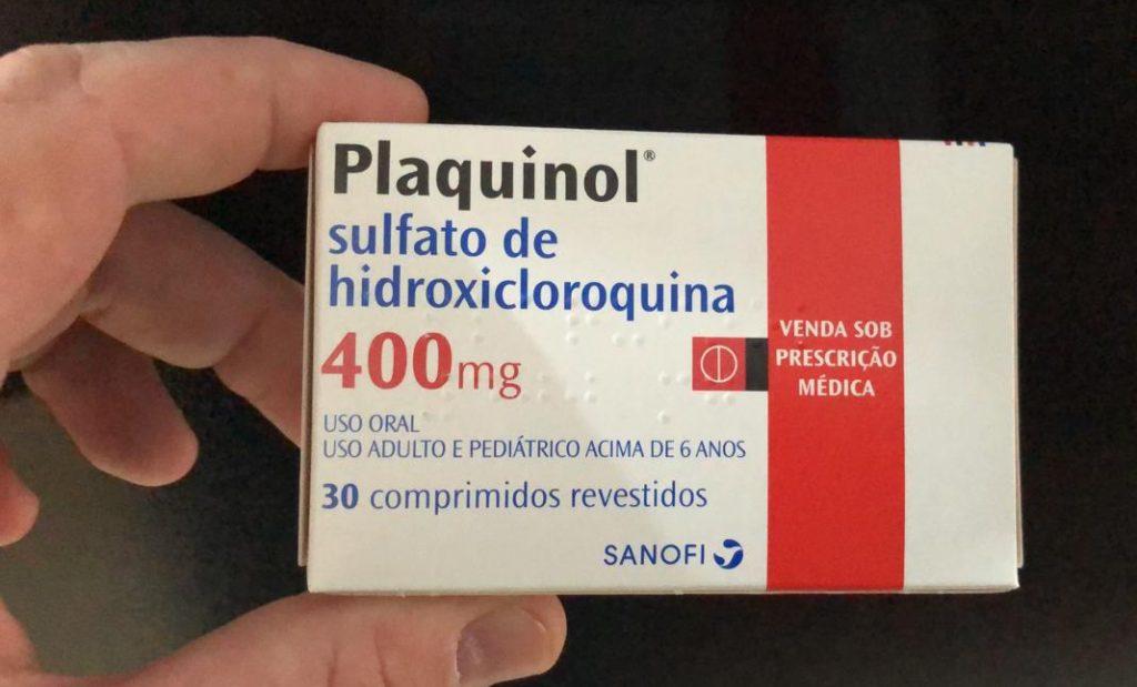 Governo do estado organiza uso da cloroquina. Foto: ES360