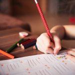 Criança estudando; educação; ensino. Foto: Pixabay
