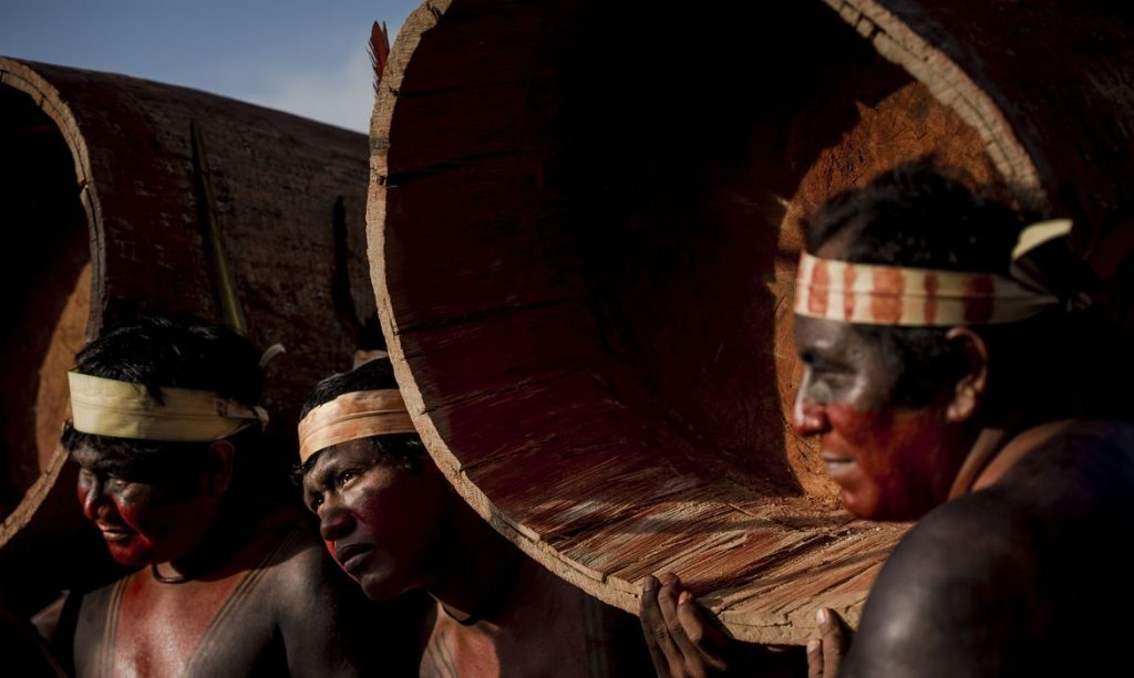 Índios. Foto: Marcelo Camargo/Agência Brasil