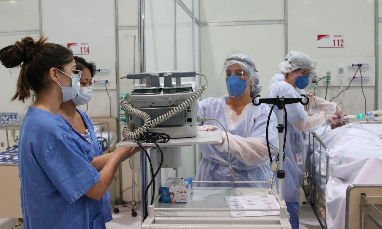 Mesmo com pandemia, governo planeja cortar orçamento da Saúde para 2021. Foto: Rovena Rosa/Agência Brasil