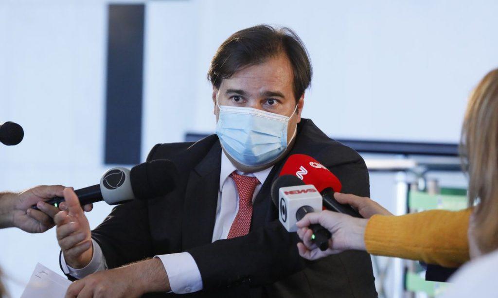 Presidente da Câmara, deputado Rodrigo Maia (DEM-RJ). Foto: Najara Araújo/Agência Brasil