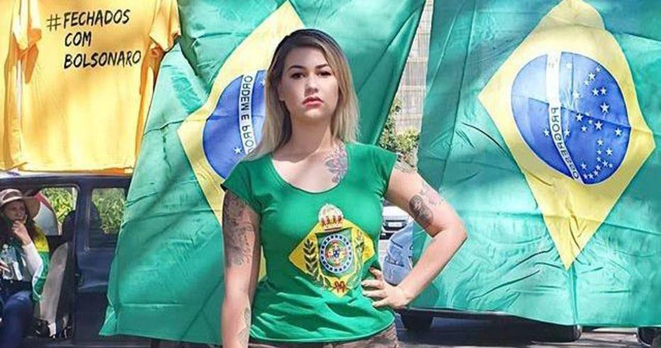 MPF denuncia Sara Giromini por injúria e ameaça contra Alexandre de Moraes. Foto: Instagram/Reprodução