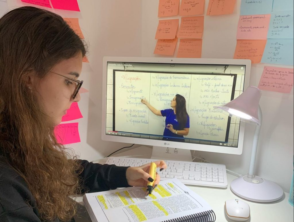 Ana Clara aluna da Unipró. Foto: Divulgação