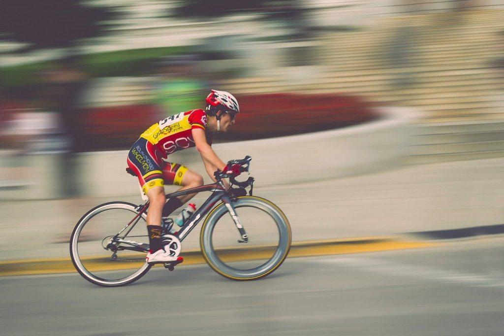 Ciclista de alta performace. Foto: Pixabay