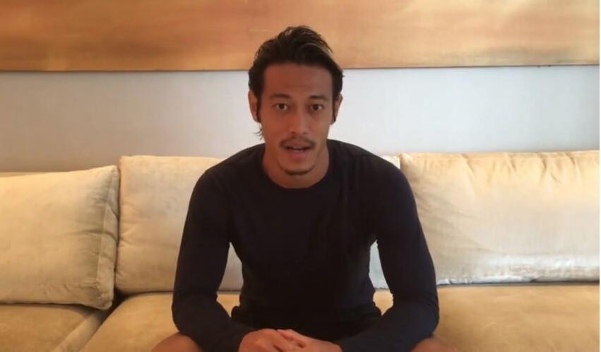 O meio-campista Honda, do Botafogo anuncia, por meio de seu Instagram, que vai sortear R$ 500 por dia até o final do ano para seus seguidores. Foto: Reprodução/Rede social
