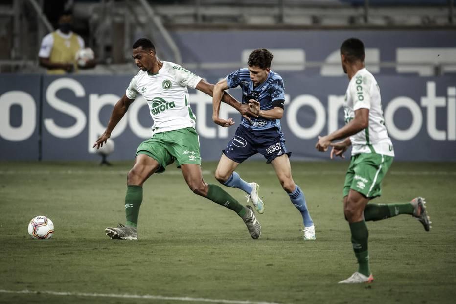 Chapecoense derrotou o Cruzeiro no Mineirão. Foto: Divulgação