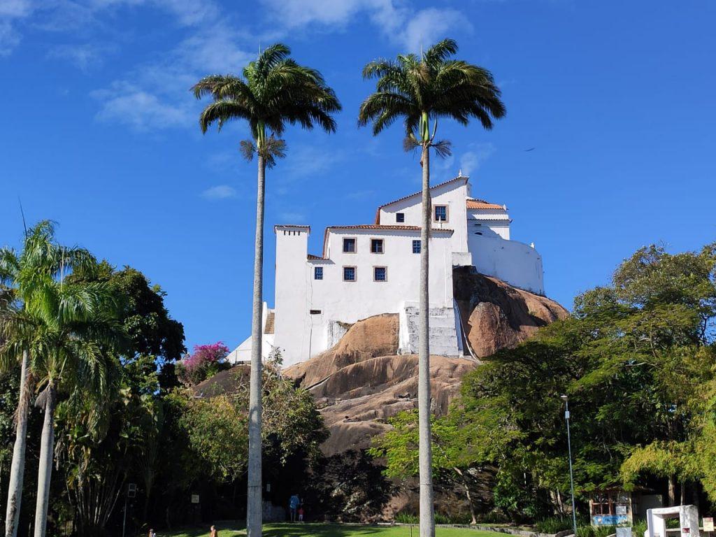 Convento da Penha, em Vila Velha. Foto: Danielli Saquetto