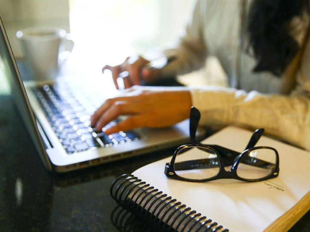 Teletrabalho, home office ou trabalho remoto. Foto: Marcelo Camargo/Agência Brasil
