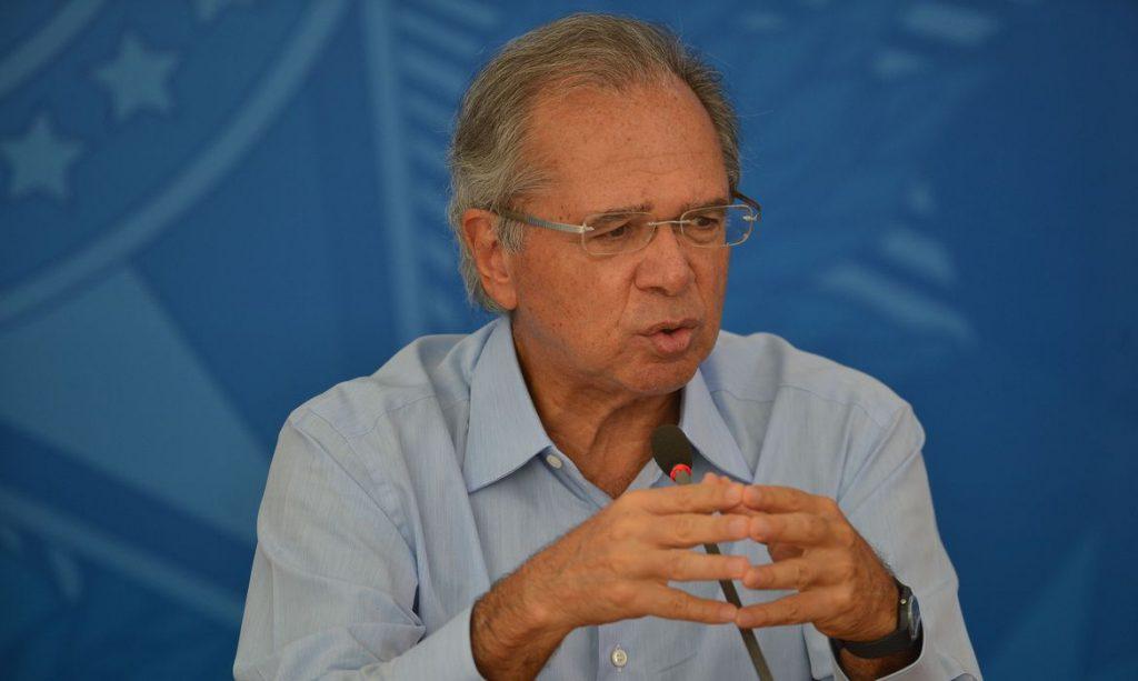 'É dinheiro na veia do povo', diz Guedes ao defender programa de renda básica. Foto: Marcello Casal Jr./Agência Brasil