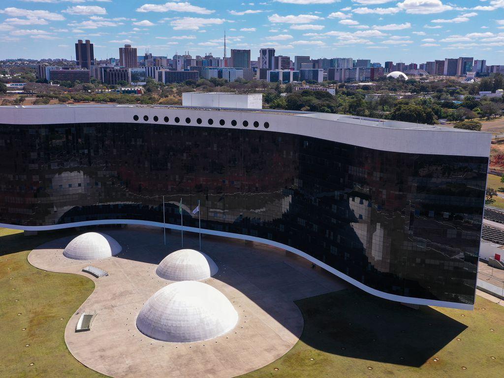 Edifício-sede do Tribunal Superior Eleitoral (TSE). Foto: Warley Andrade/TV Brasil