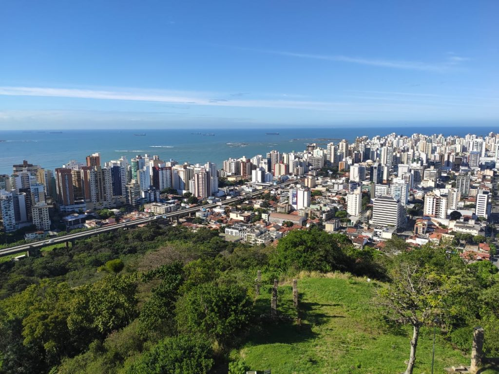 Vista aerea de Vila Velha. Foto: Danielli Saquetto