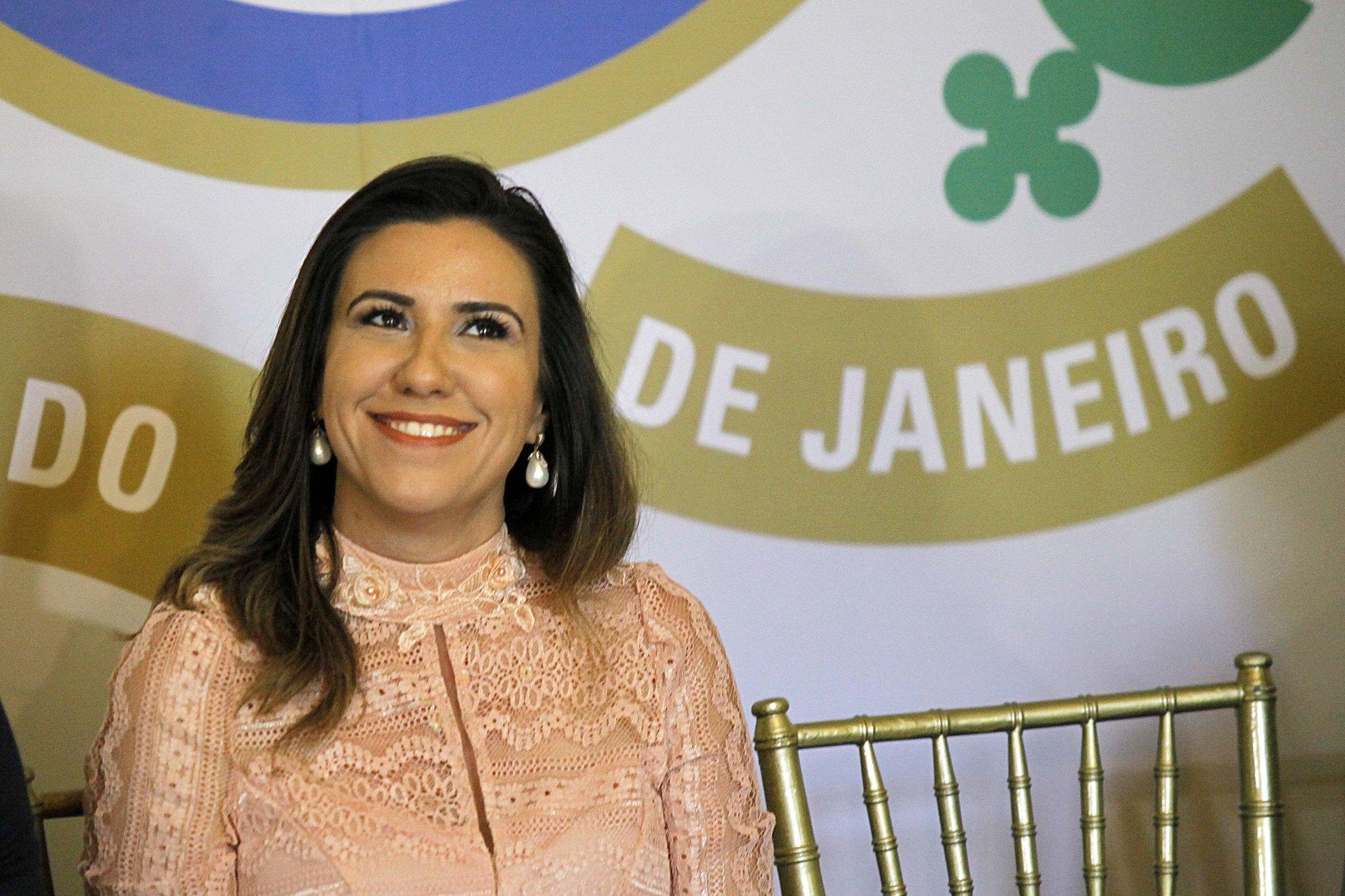 Primeira-dama Helena Witzel. Foto: André Gomes de Melo