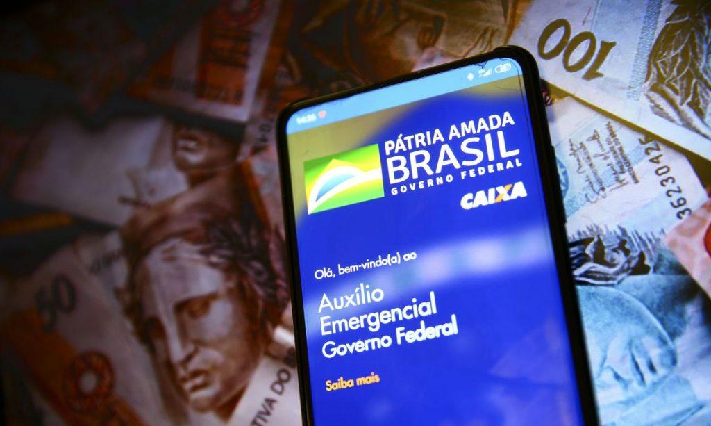 Aplicativo auxílio emergencial do Governo Federal. Foto: Marcelo Camargo/Agência Brasil