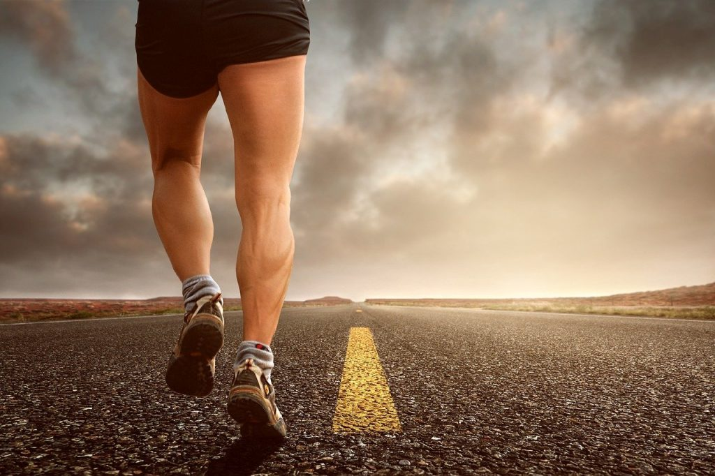 Corrida de rua. Foto: Pixabay