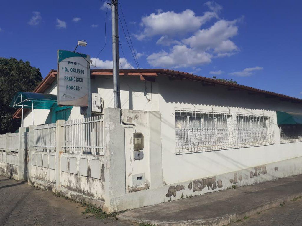 Escola Dr. Orlindo Francisco Borges, em João Neiva. Foto: Divulgação