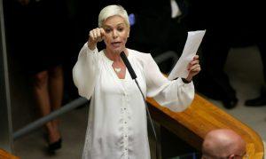 Ex-deputada federal Cristiane Brasil. Foto: Wilson Dias/Agência Brasil