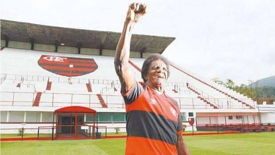 Ídolo do Flamengo, atacante Silva 'Batuta' morre aos 80 anos no Rio de Janeiro. Foto: Divulgação/Flamengo