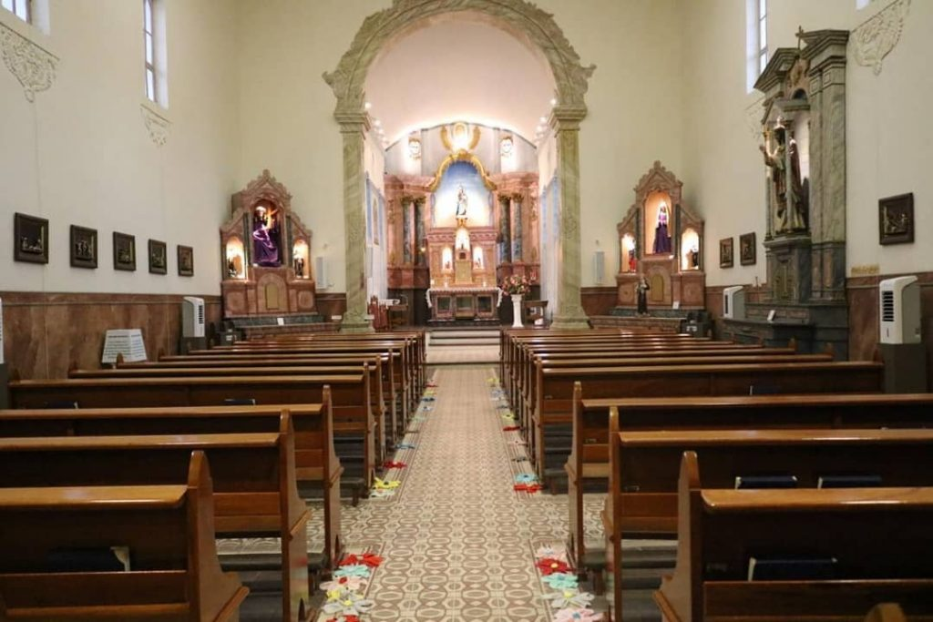 Igreja de Nossa Senhora do Rosário, na Prainha em Vila Velha. Foto: Divulgação