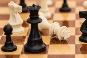 Jogo de xadrez. Foto: Pixabay