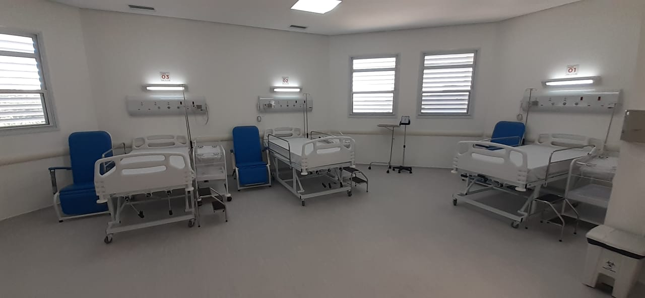 A unidade terá 176 leitos maternos. Foto: Vinicius Arruda/Portal ES360