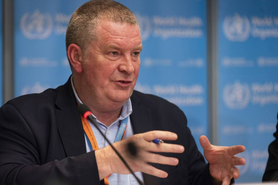 Michael Ryan, diretor-executivo do programa de emergências da Organização Mundial da Saúde (OMS). Foto: Christopher Black/OMS