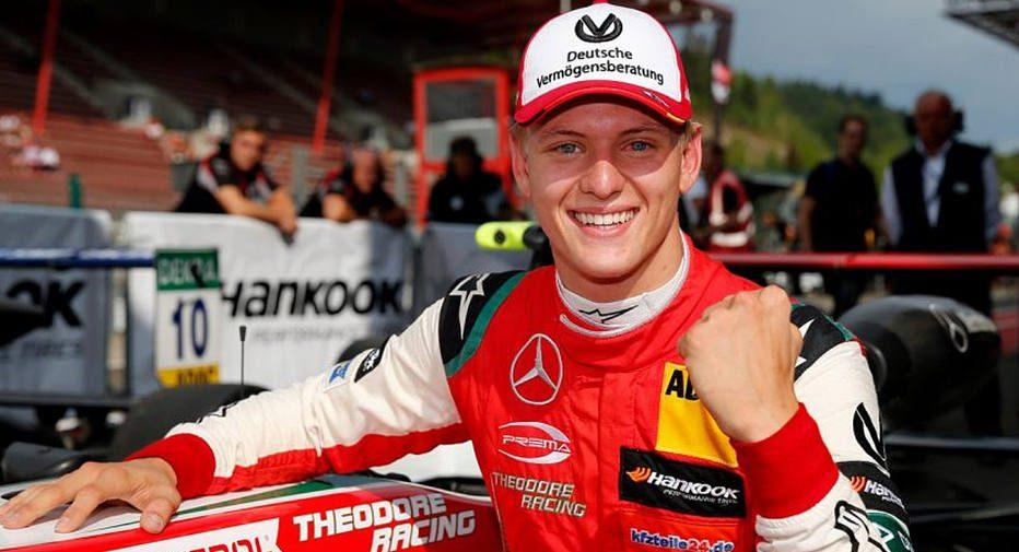 Mick, filho de Michael Schumacher. Foto: Mick Schumacher/Divulgação