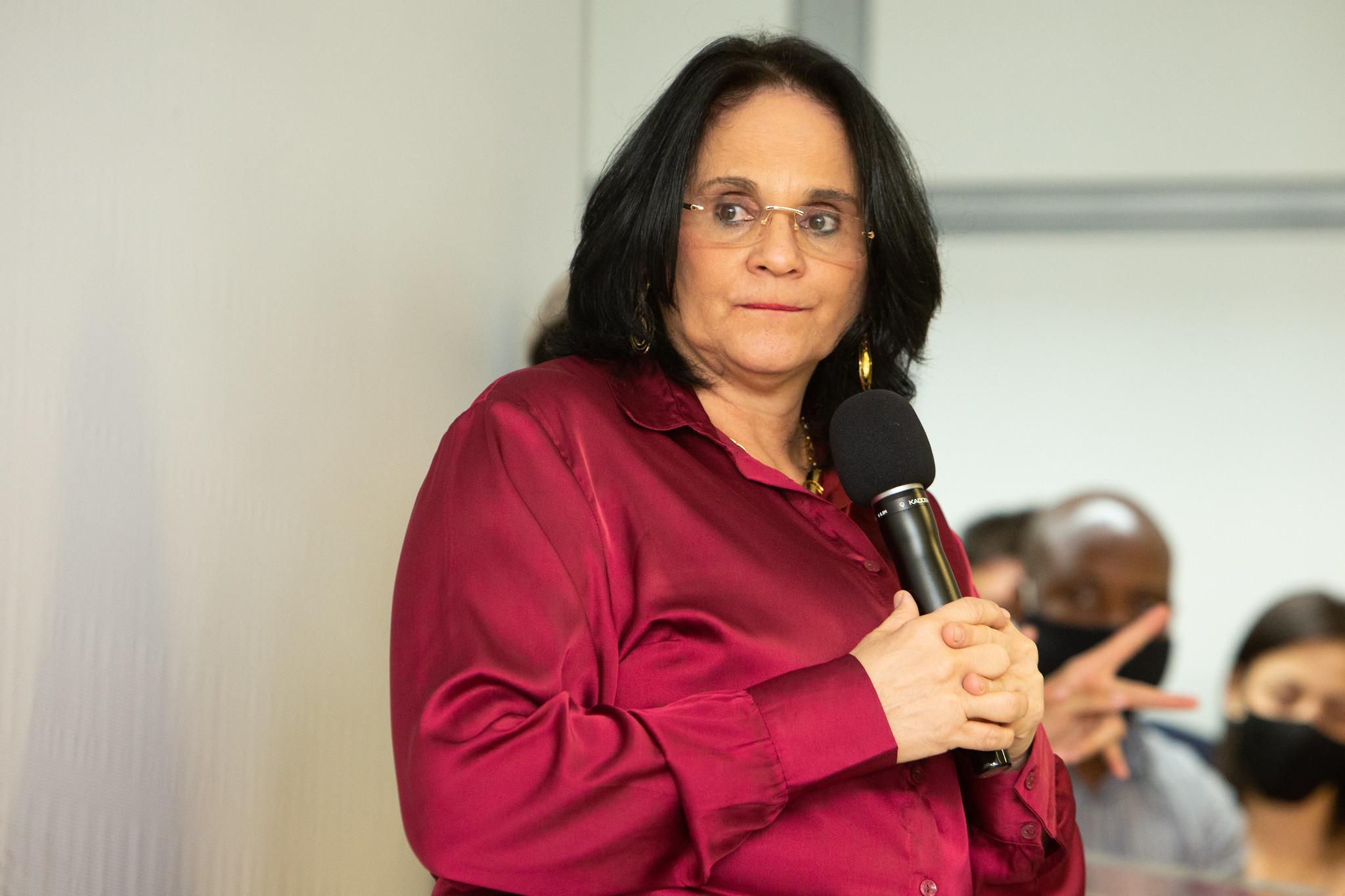 Ministra da Mulher, da Família e dos Direitos Humanos, Damares Alves. Foto: Willian Meira/MMFDH