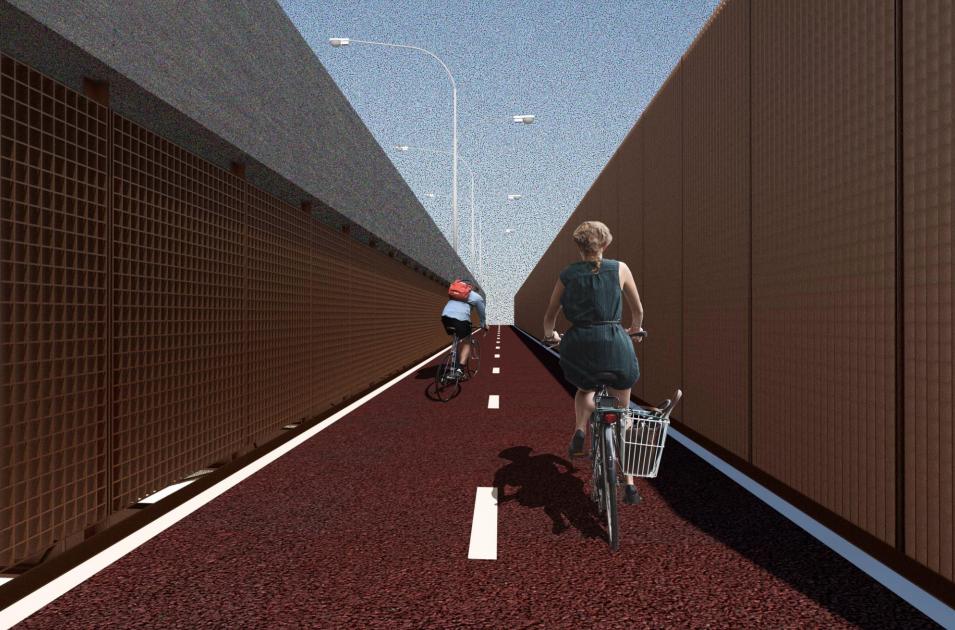 Projeto para a Terceira Ponte. Foto: Divulgação