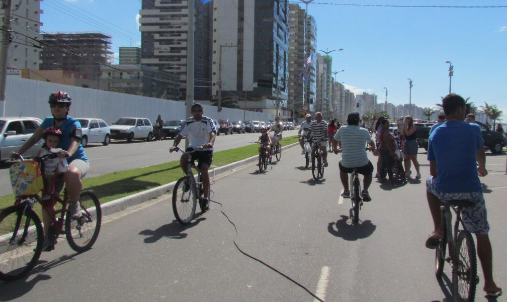 Rua de Lazer na orla de Itaparica, em Vila Velha. Foto: Divulgação/PMVV