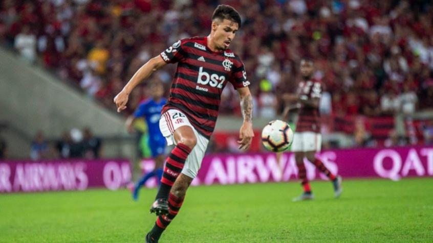 Matheus Thuler. Foto: Marcelo Cortes/Flamengo
